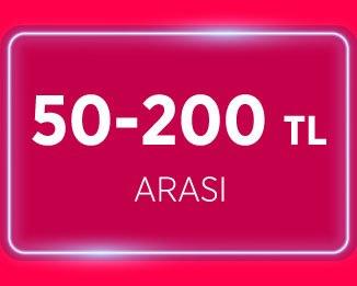 50TL - 200TL arası ürünler