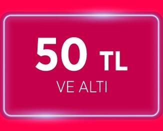 50TL altı ürünler